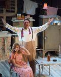Casey Candebat (Harold _Mitch_ Mitchell) and Julie Adams (Blanche DuBois). A Streetcar Named Desire. Merola Opera Program. Photography by Kristen Loken. 2